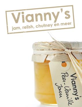 Vianny's peer vanille jam met nieuw logo beige 13x15 72dpi