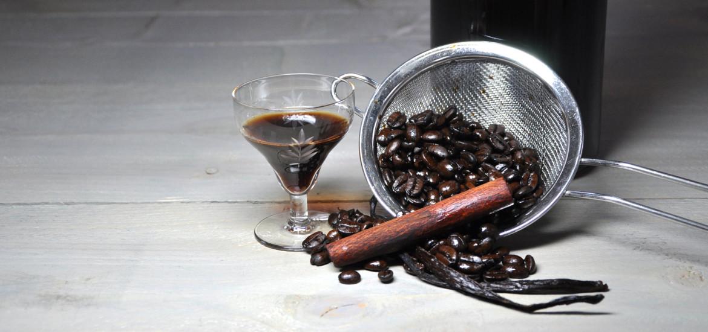 Koffielikeur klaar bonen
