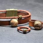 set-leer-dun-en-breed-naturel-cab-brond-natuursteen-bruinbeige-ringetjes-brons